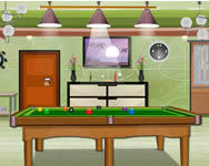 Billiard room escape j�t�k