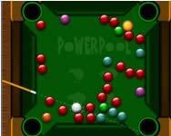 Powerpool frenzy bili�rd j�t�kok
