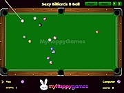 Sexy billiards 8 ball online j�t�k
